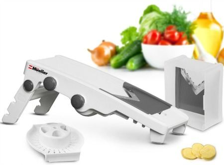 5 Blade Adjustable Mandoline Slicer