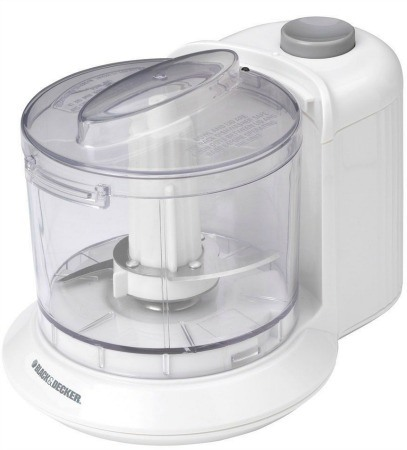 Electric Food Chopper, White