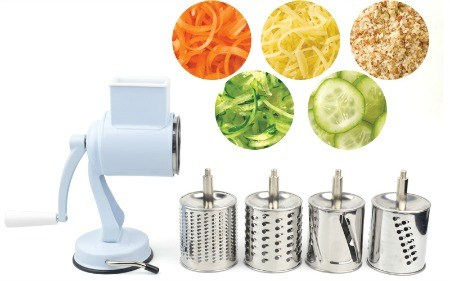 Suction Base Rotary Vegetable Slicer